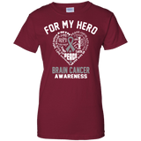 For my Hero! Brain Cancer Awareness T-Shirt