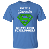 I Battle Depression! T-Shirt