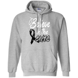 Believe in the cure - Melanoma Awareness Unisex Hoodie