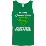 I Battle Cerebral Palsy! Tank Top