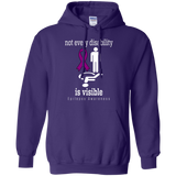 Not every Disability is visible... Epilepsy Awareness Hoodie