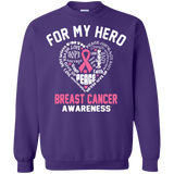 For My Hero! Breast Cancer Awareness Long Sleeve