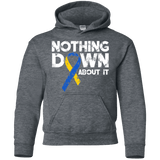 Nothing down about it! - Kids Hoodie