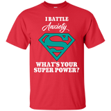 I Battle Anxiety! T-Shirt