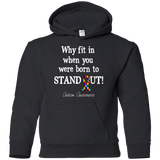 Born to Stand Out! Autism Awareness KIDS Hoodie