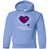 We remember their love! Alzheimer's Awareness KIDS Hoodie