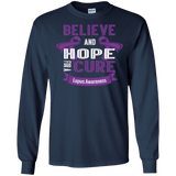 Believe & Hope for a Cure... Long Sleeve & Crewneck
