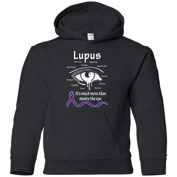 More than meets the eye! Lupus Awareness KIDS Hoodie