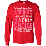 How strong we are! Breast Cancer Awareness Kids Collection