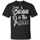 Believe in the cure! Brain Cancer Awareness T-Shirt