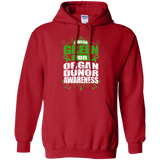 I Wear Green for Organ Donor Awareness! Hoodie