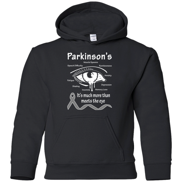 More than meets the Eye! Parkinson's Awareness KIDS Hoodie