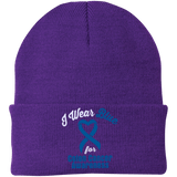 Colon Cancer - One Size Fits Most Knit Cap