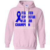 HERO! Colon Cancer Awareness Hoodie