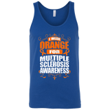 I Wear Orange for MS Awareness! Tank Top