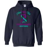 I Wear Purple & Teal!! Suicide Prevention Awareness Hoodie