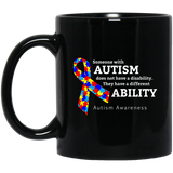 Different ability! Autism Awareness Mug
