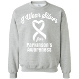 I Wear Silver for Parkinson's Awareness... Long Sleeve Collection