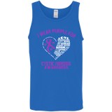 I Wear Purple for Cystic Fibrosis... Tank Top