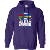 I Wear Colours for Autism Awareness! Hoodie
