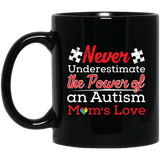 Never Underestimate! Autism Awareness Mug