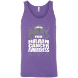 I Wear Gray for Brain Cancer Awareness! Tank Top
