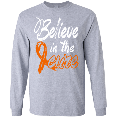 Believe in the Cure - MS Awareness Long Sleeve Collection