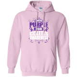 I Wear Purple for Colitis Awareness! Hoodie