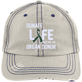 Donate Life - Distressed Trucker Cap