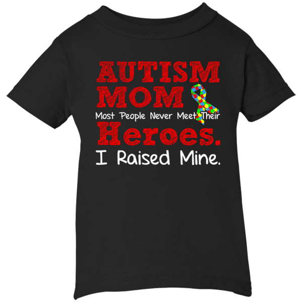 Infant 5.5 oz Short Sleeve T-shirt - Autism Mom