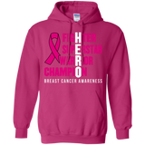 HERO! Breast Cancer Awareness Hoodie