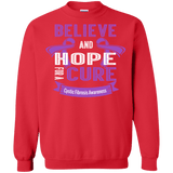 Believe & Hope for a Cure... Long sleeve & Sweater