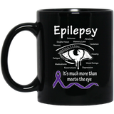 More than meets the Eye! Epilepsy Awareness Mug