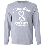 I Wear Silver for Parkinson's Awareness... Kids Collection!