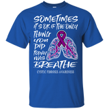 Breathe! Cystic Fibrosis Awareness T-shirt