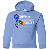 Different ability! Autism Awareness KIDS Hoodie