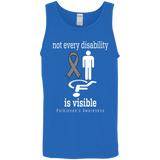 Not every disability is visible! Parkinson's Awareness Tank Top