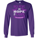 Believe & Hope for a Cure... Long Sleeved & Sweater