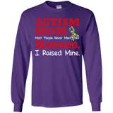 Youth Long Sleeve Shirt - Autism Mom