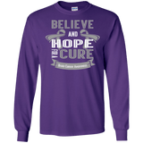 Believe & Hope For A Cure- Long sleeve collection