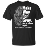 Make way for Gray... Brain Cancer Awareness KIDS T-Shirt