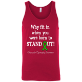 Born to Stand Out! Muscular Dystrophy Awareness Tank Top