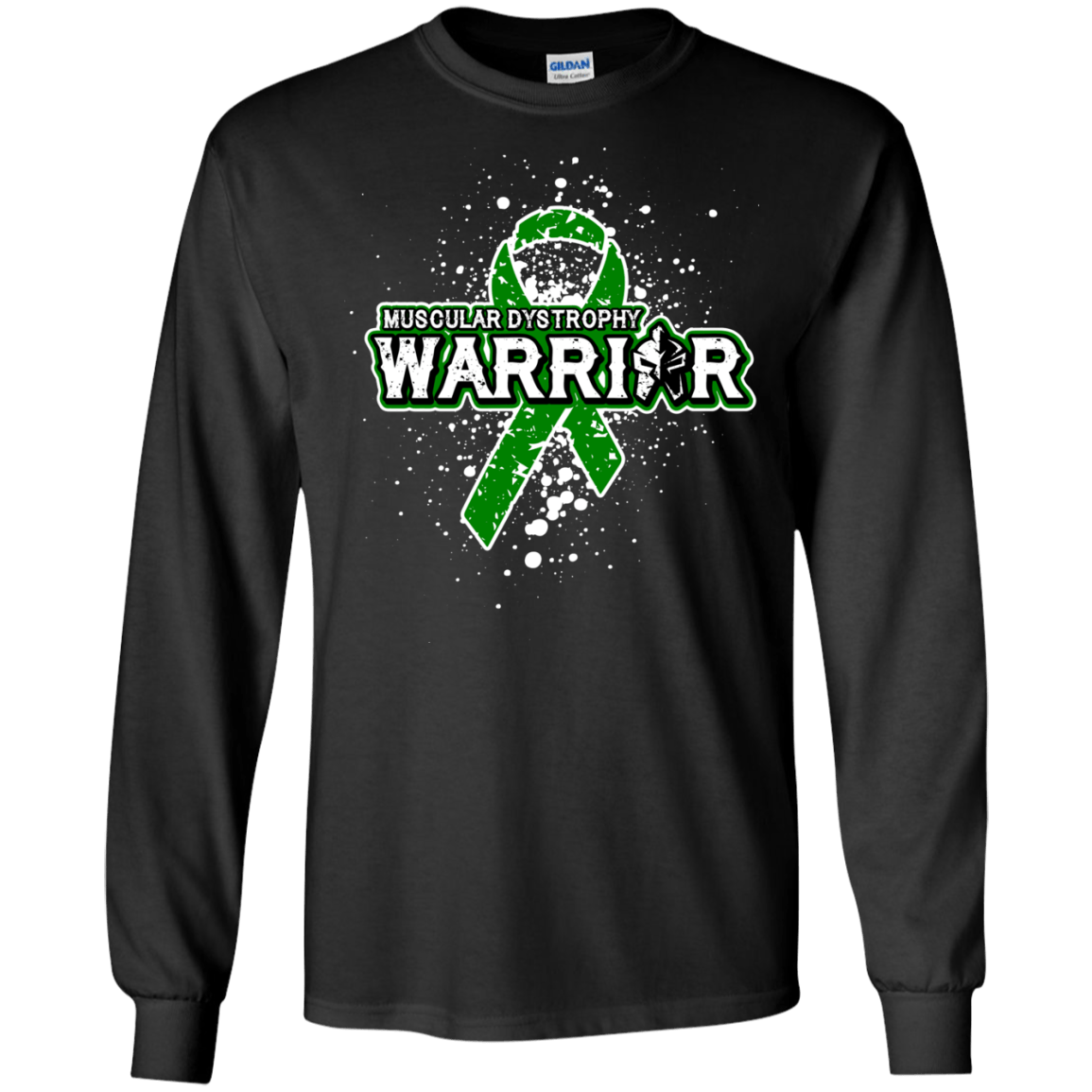 2baf0b55 Muscular Dystrophy Warrior! - Long Sleeve Collection – The Awareness Store
