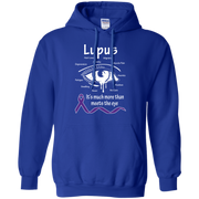 More than meets the eye  Lupus Awareness Hoodie