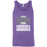 I Wear Silver for Parkinson's Awareness! Tank Top
