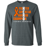 HERO! Leukemia Awareness Long Sleeve T-Shirt