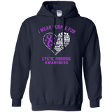 I wear Purple for Cystic Fibrosis... Hoodie
