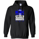 I Wear Blue for Child Abuse Awareness! Hoodie