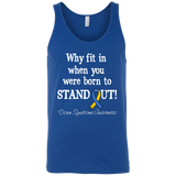 Born to Stand Out! Down Syndrome Awareness Tank Top