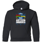 I Wear Colours for Autism Awareness! KIDS Hoodie